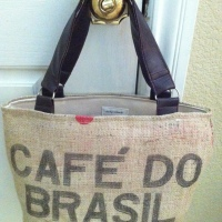Rescued Coffee Sack Tote
