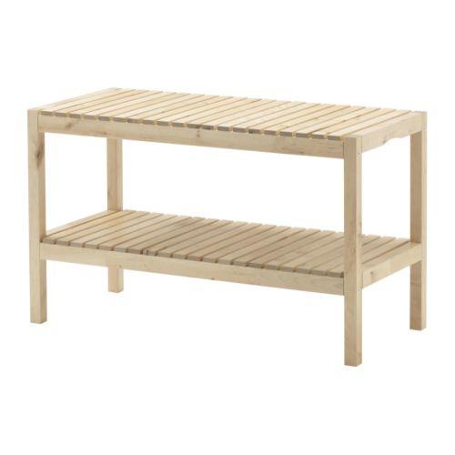 Ikea Molger Bench Beforeu2026 After ...