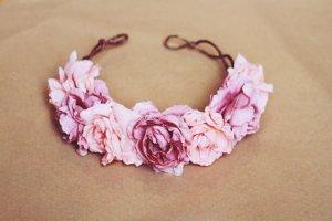 etsy pink headband