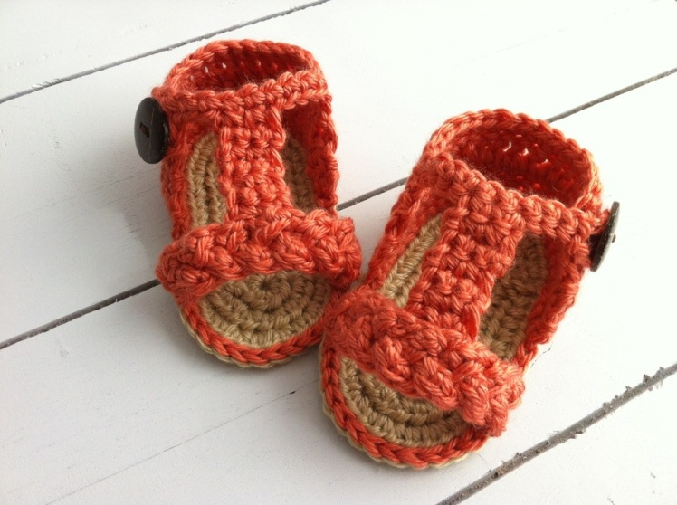 crochet gladiator sandals