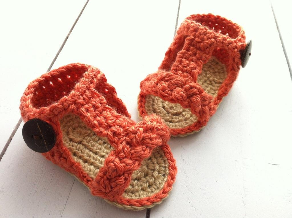 Baby Girl Crochet Gladiator Sandals