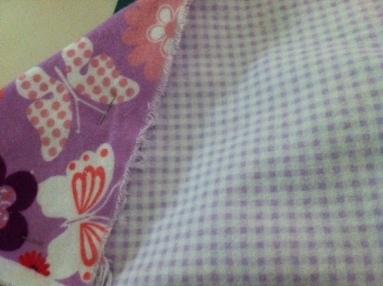 crochet flannel edge blanket