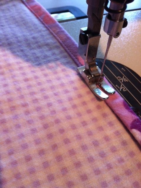 Wip Crochet Edge Flannel Blanket