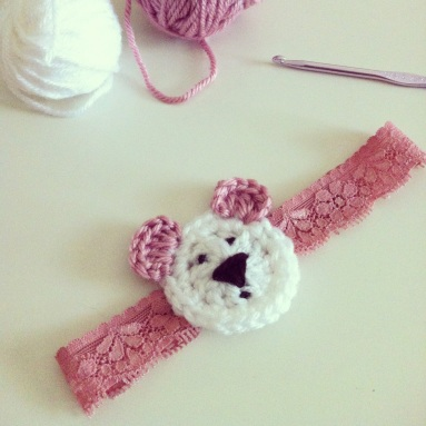 bear headband