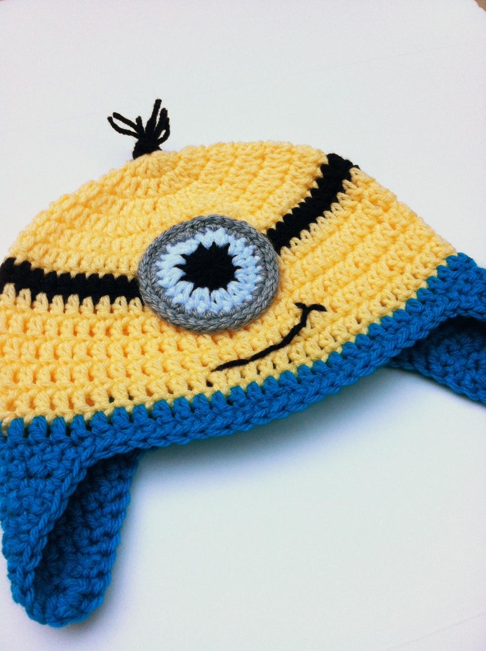 Tutorial Crochet Minion Hat