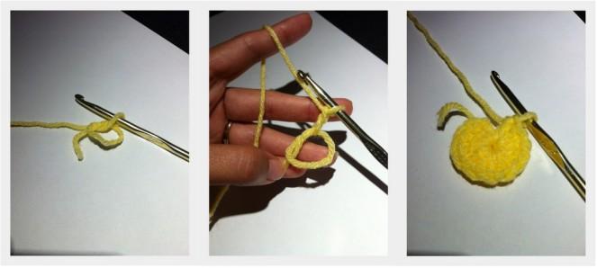 crochet magic circle
