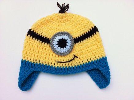 TUTORIAL – Crochet Minion Hat e94e4ca4713