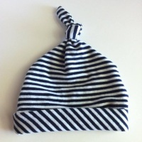 UPCYCLED - Baby Knot Hat from Summer Dress