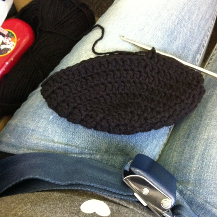 crochet while flying