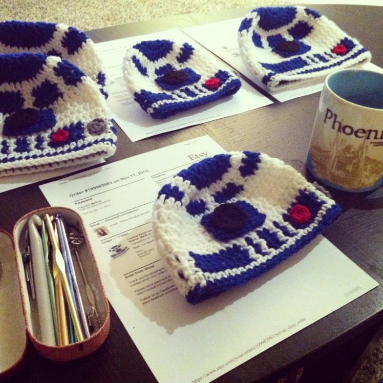 crochet R2D2