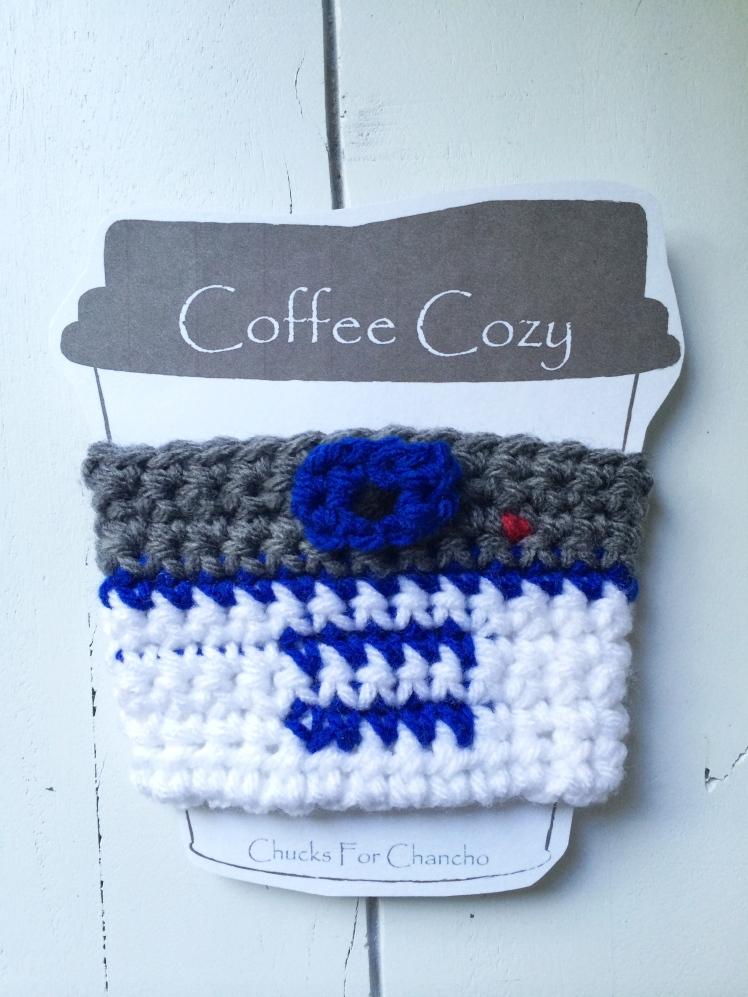 crochet r2d2 cozy