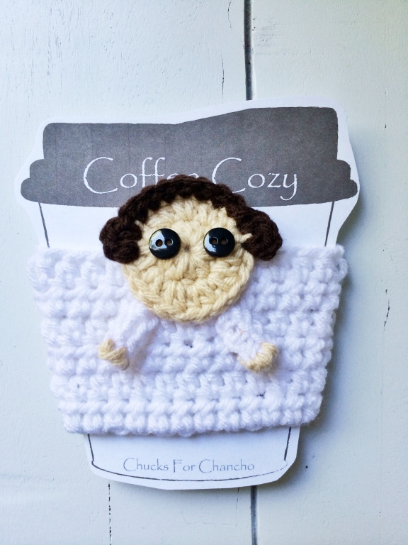 crochet princess leia cozy