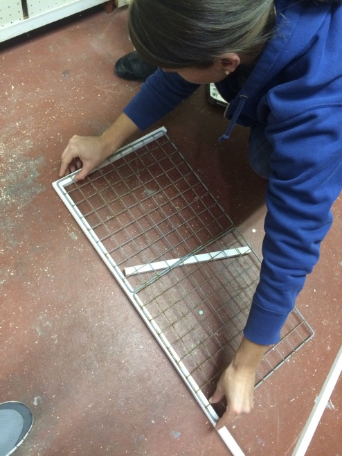 salvage metal grate