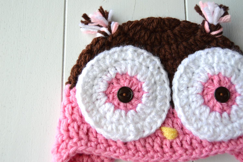 Springtime crochet owls crochet owl hat bankloansurffo Image collections