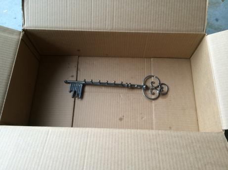 copper key holder