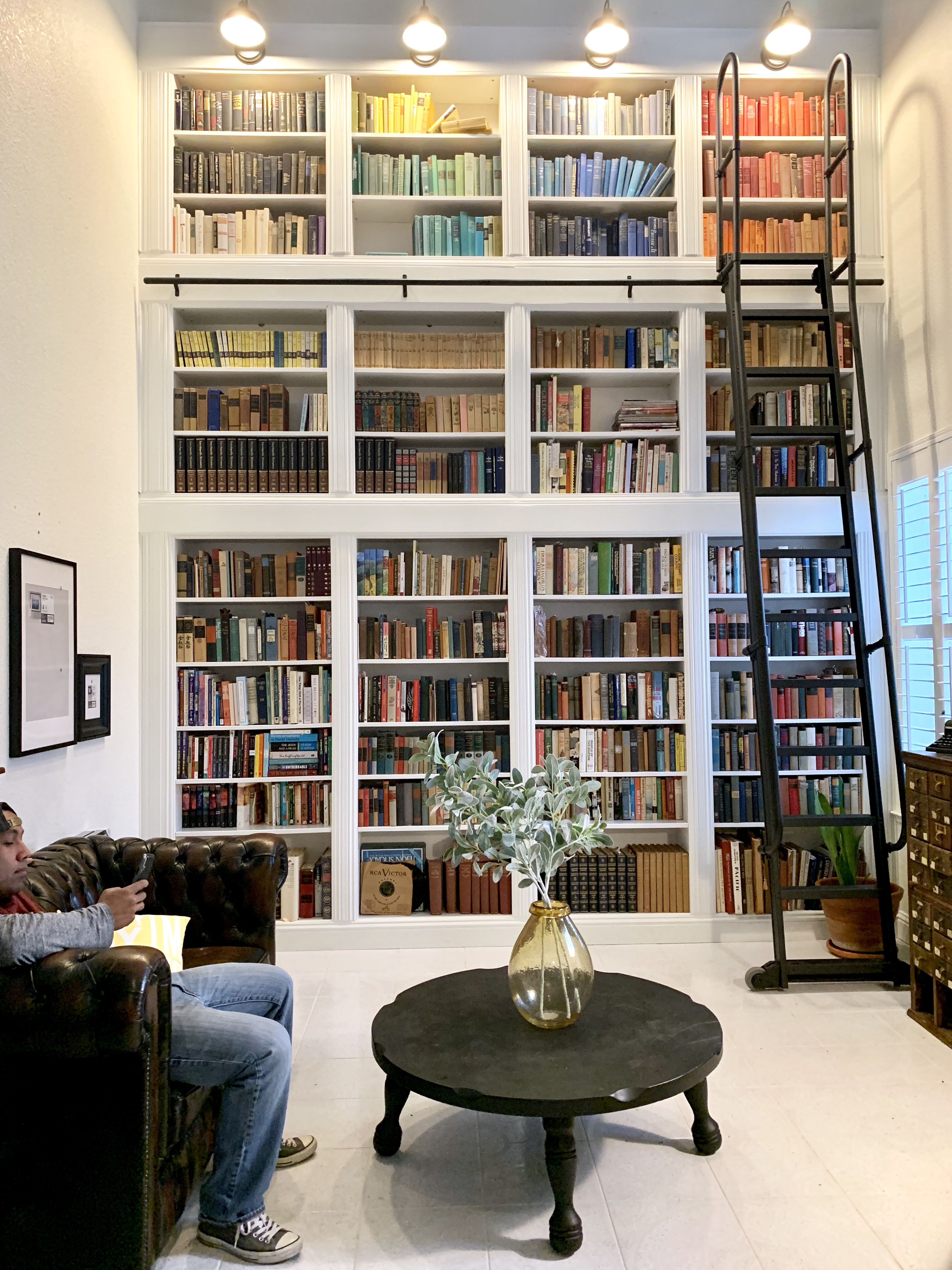 Library Ladder Install
